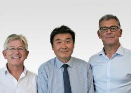 Gerard Moon, Fred Yue and Iain Corbett