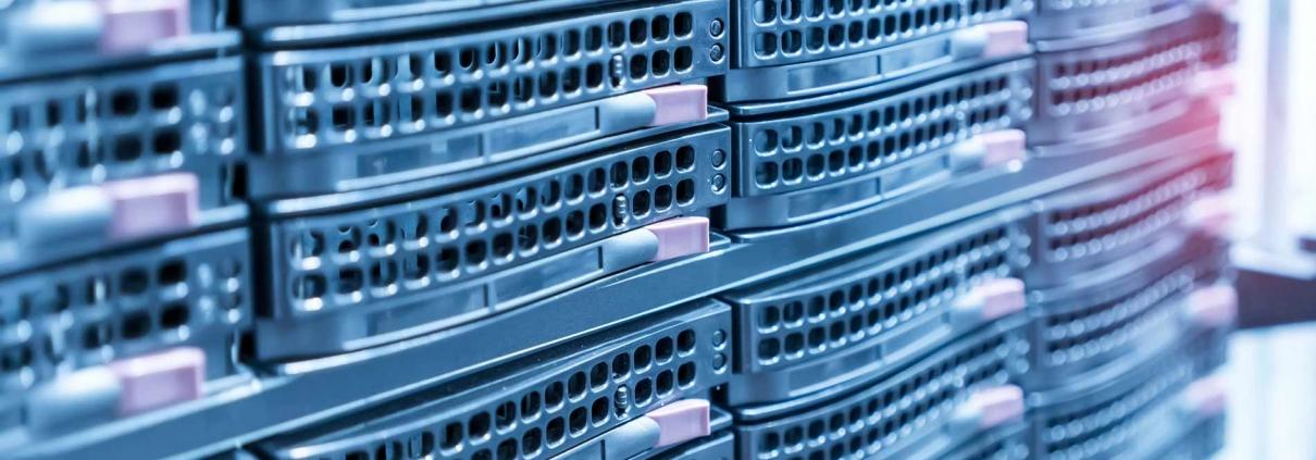 Servers in the data center